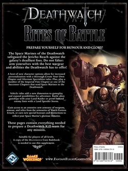 Deathwatch - Rites of Battle