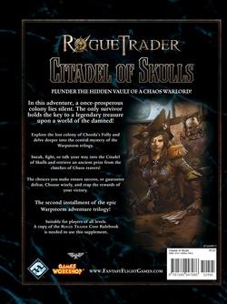 Rogue Trader - Warpstorm 2:  Citadel of Skulls