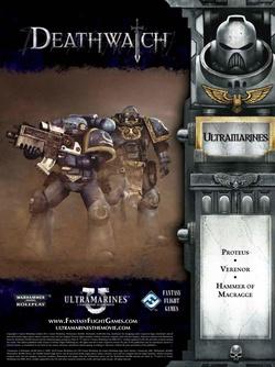 Deathwatch - Ultramarines:  A Warhammer 40,000 Movie