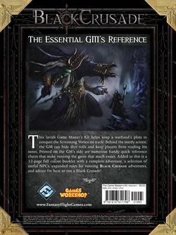 Black Crusade - Game Master's Kit