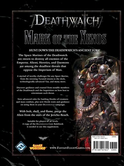 Deathwatch - Mark of the Xenos