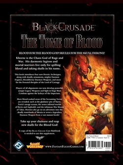 Black Crusade - The Tome of Blood