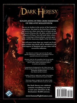 Dark Heresy - Dark Heresy Core Rulebook