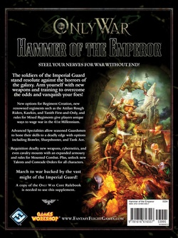 Only War - Hammer of the Emperor