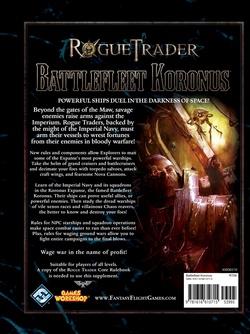 Rogue Trader - Battlefleet Koronus