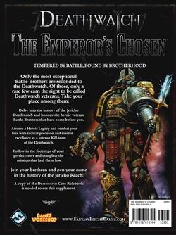 Deathwatch - The Emperor's Chosen