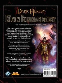 Dark Heresy - Apostasy Gambit 3:  The Chaos Commandment