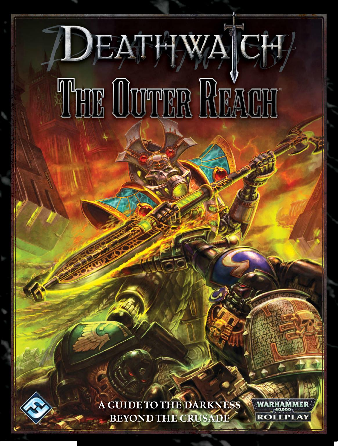 deathwatch the outer reach background 40k rpg tools