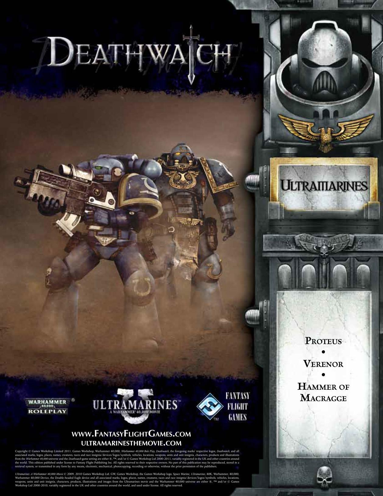 Deathwatch Ultramarines A Warhammer 40000 Movie Free Web