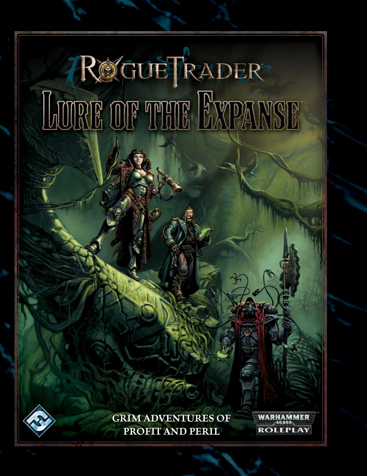 rogue trader lure of the expanse adventure 40k rpg tools