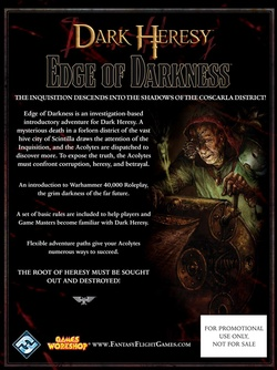 Dark Heresy - The Edge of Darkness