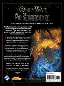 Only War - No Surrender