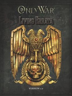 Only War - Living Errata v1.0