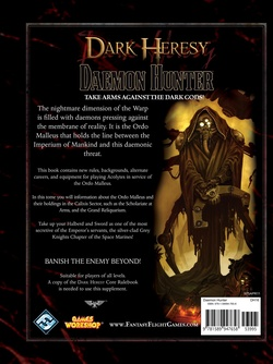 Dark Heresy - Daemon Hunter