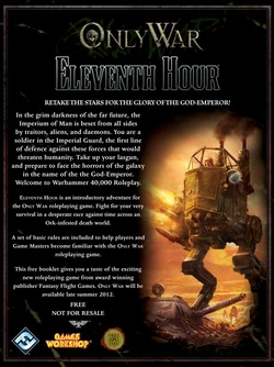 Only War - Eleventh Hour