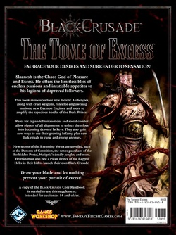 Black Crusade - The Tome of Excess