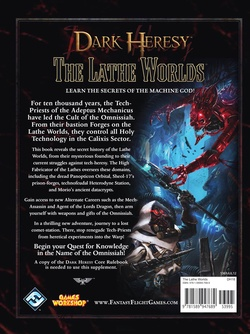Dark Heresy - The Lathe Worlds