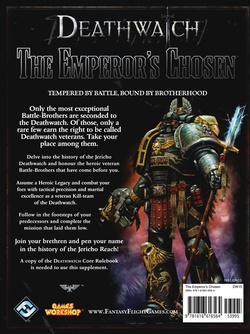 Deathwatch - The Emperor's Chosen