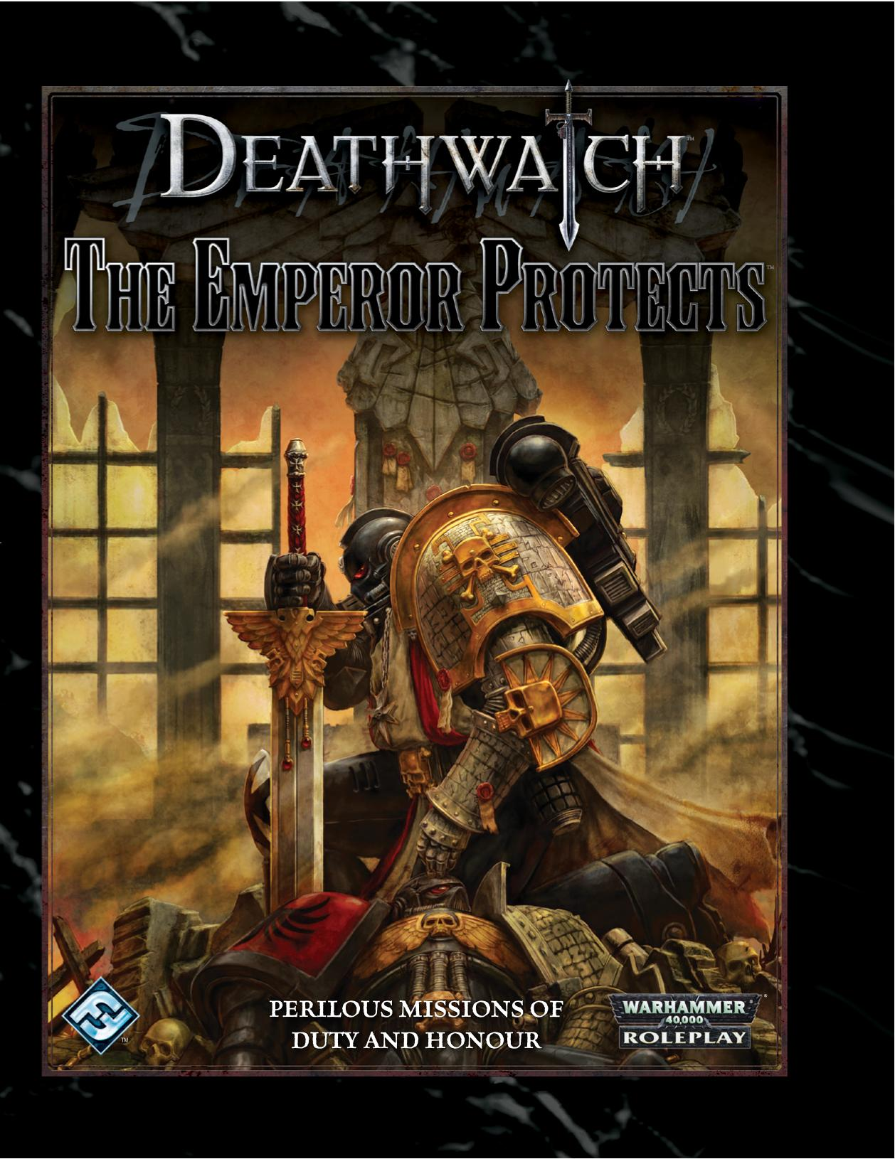 The Emperor Seven Tarot Cards From Different Packs Other: Deathwatch - The Emperor Protects (Adventure)