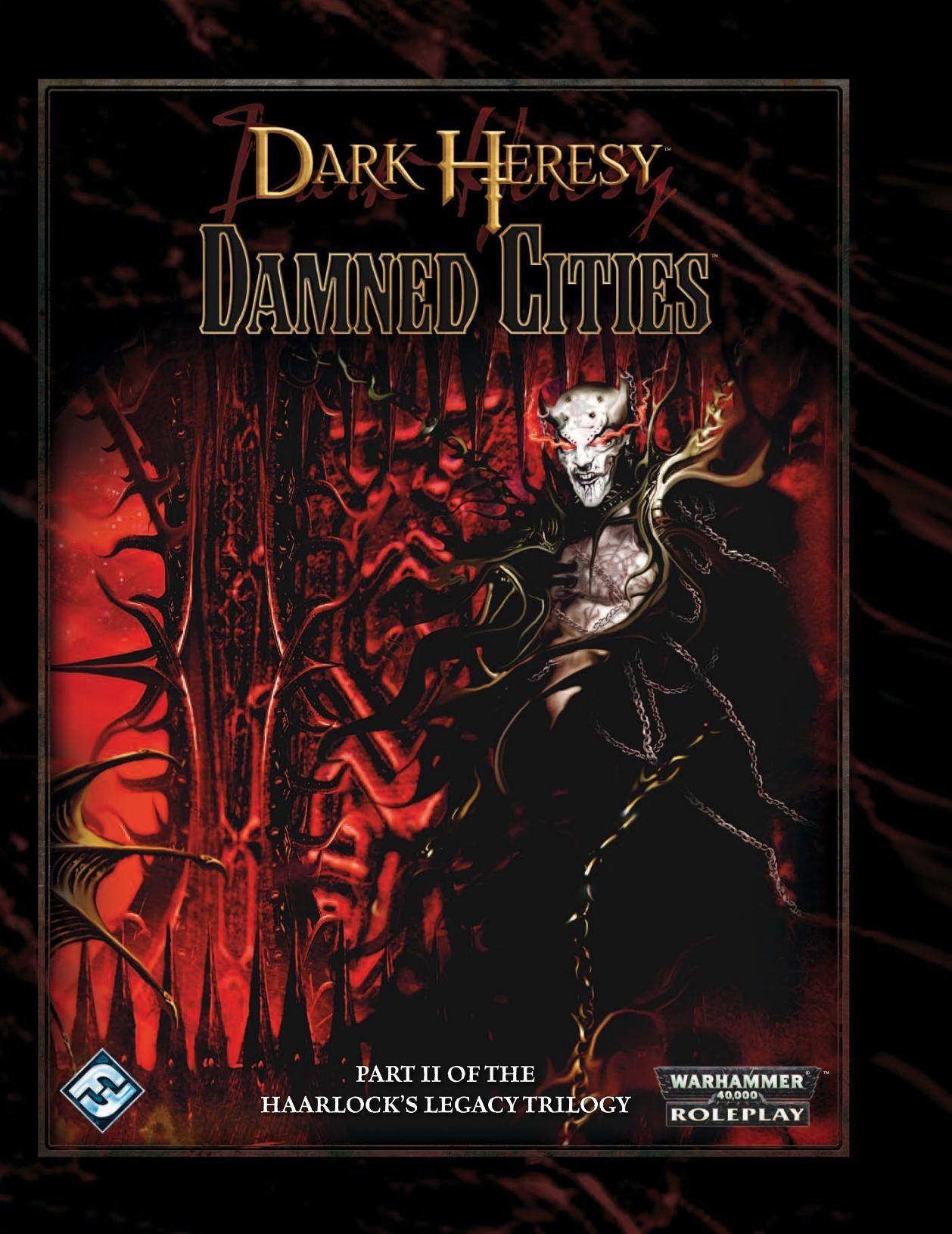 Dark Heresy The Haarlocks Legacy Trilogy Pdf