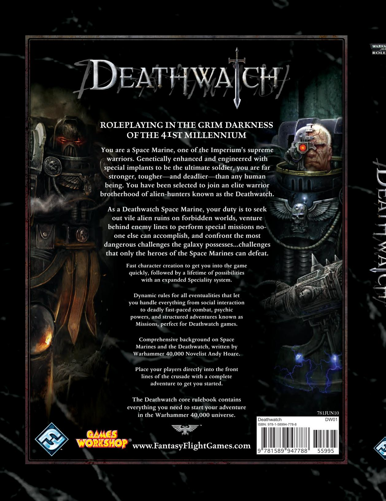 Deathwatch Mark Of The Xenos Pdf